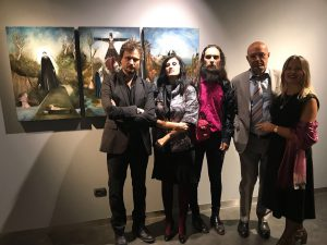 Il Pomo da DaMo - Vernissage Sergio Padovani #12