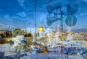 Davide Bramante - Stratificazioni Urbane 2017 - Gerusalemme, ** (Panoramica) 2016