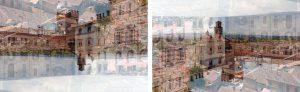 Davide Bramante - Stratificazioni Urbane 2017 - Imola (dittico)