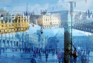 Davide Bramante - Stratificazioni Urbane 2017 - Parigi, (In su e in giù) 2016 copy