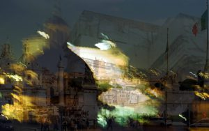 Davide Bramante - Stratificazioni Urbane 2017 - Roma, Nigth-Day
