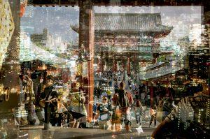 Davide Bramante - Stratificazioni Urbane 2017 - Tokyo, 2015 Past-Present-Future