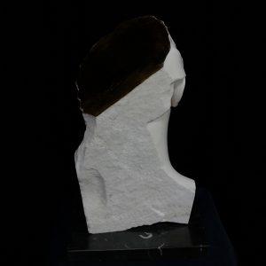 9SOGNI NOTTURNI, 2016, marmo statuario di Carrara, marmo nero Marquiunia e oro in foglia,cm 50x35x35cm (b).tiff copia